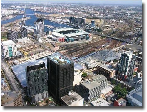Overlooking The Docklands Area From The Rialto