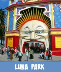 Image link to Site page on Melbourne Luna Park