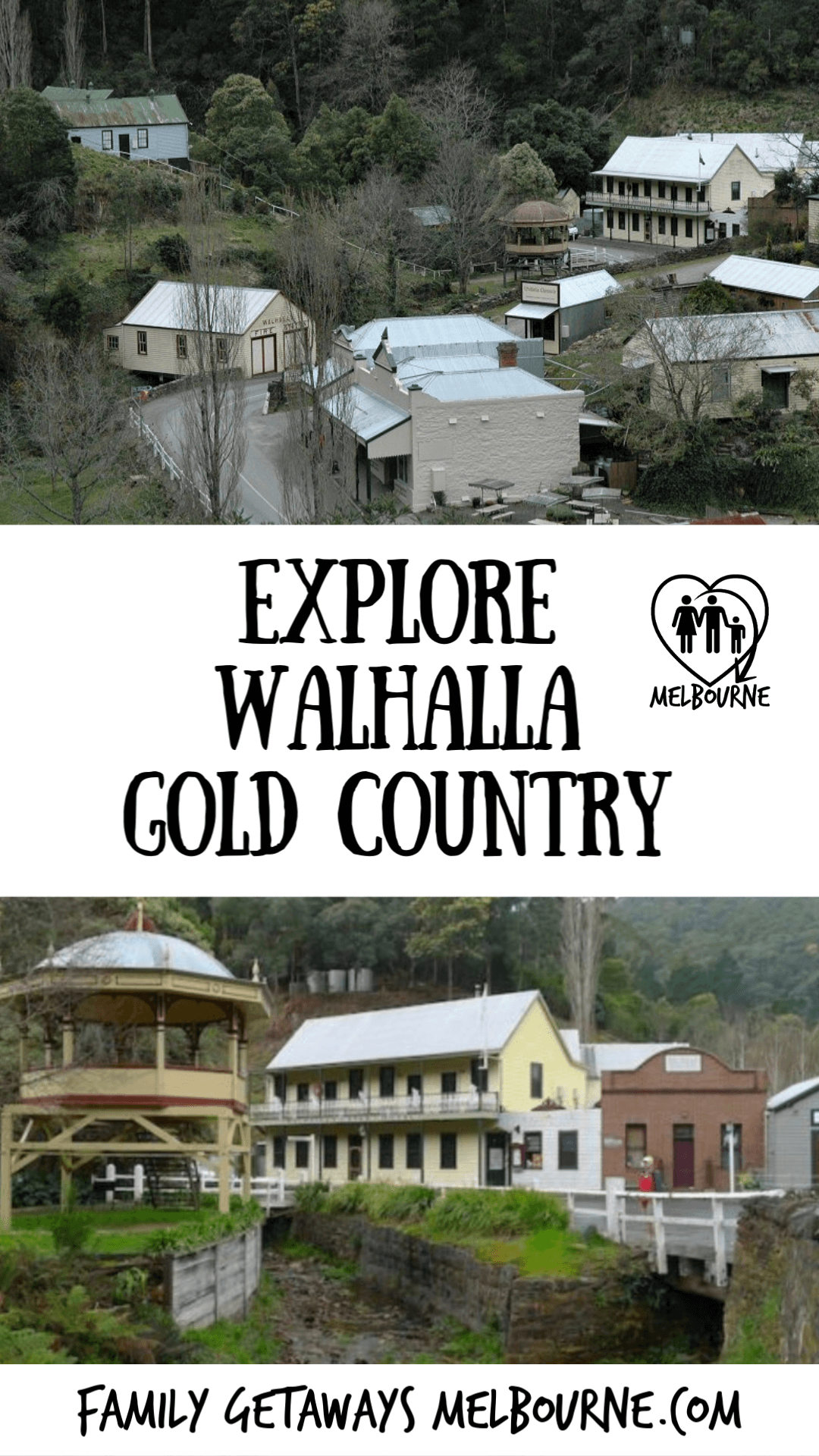 image to pin to Pinterest for the site page on Walhalla haunted weekend
