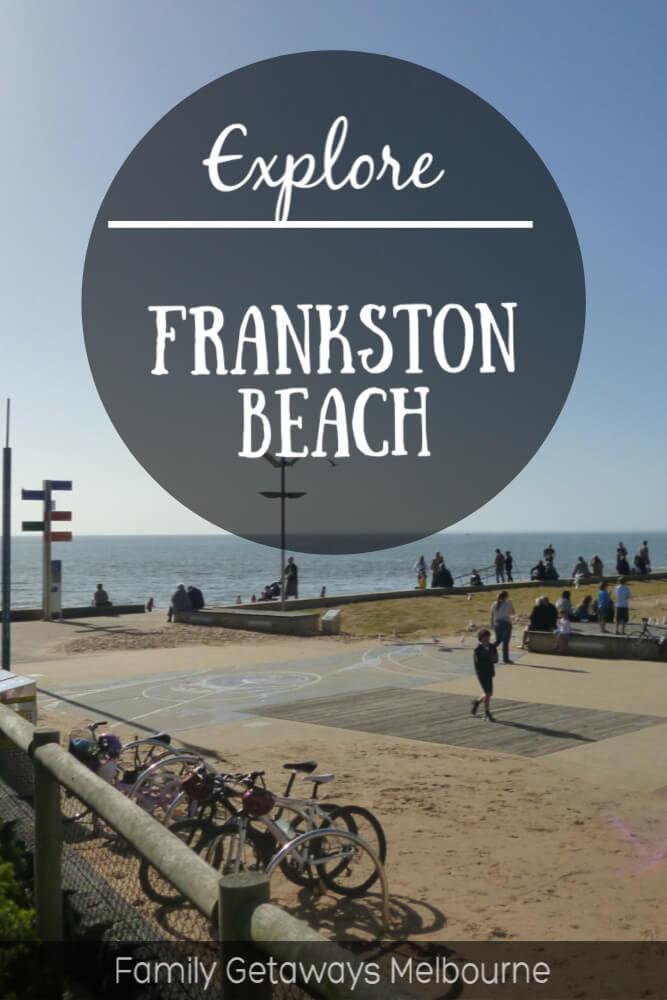 frankston beach foreshore image to pin to pinterest