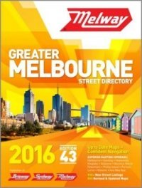 Melbourne Melway Street Directory