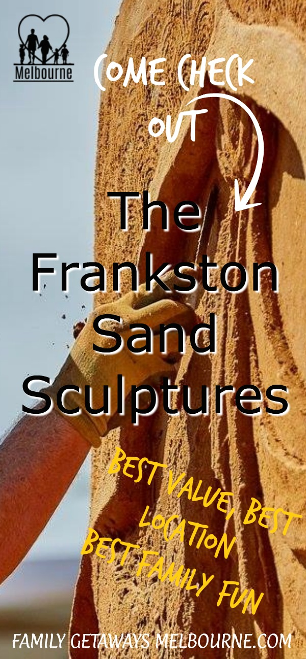 image to pin to Pinterest for Sand sculpture festival page