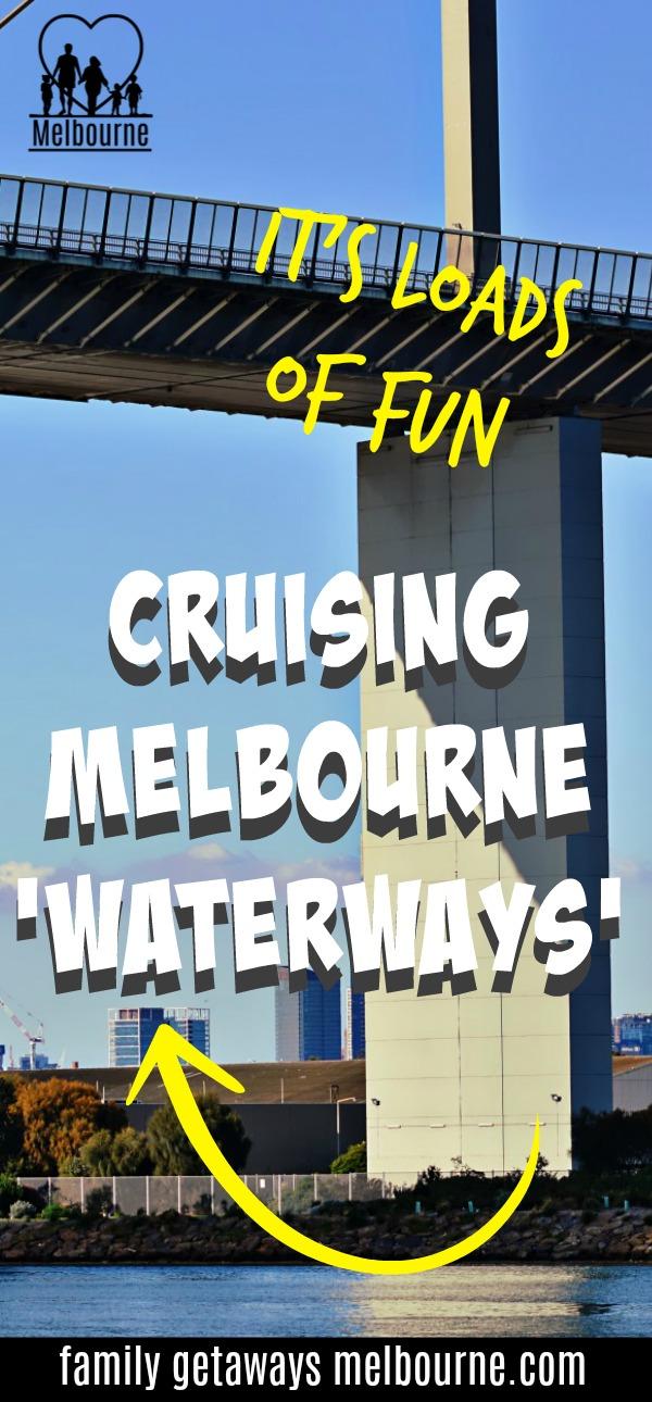 Melbourne River Cruises Pinterest pin