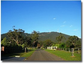 Kilsyth at the base of the Dandenong Mountains