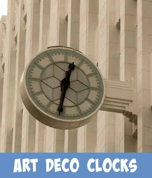 Image link to site page on Art deco clocks