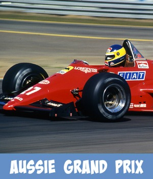 Image link to Site page on Formula one Australian Grand Prix