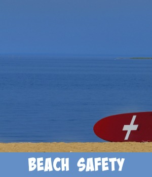 Thumbnail graphic link to Site page Beach Safety