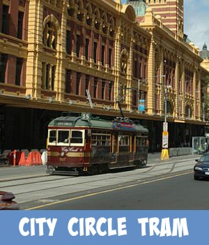 Image link to site page on City Circle Tram