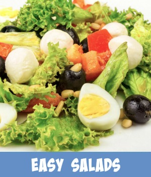 easy salad recipes site page link