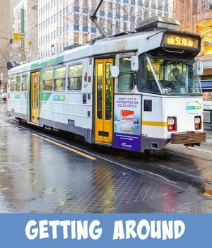 image link to site page on getting around Melbourne