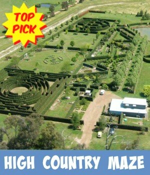 Thumbnail image link to site page on the High Country Maze