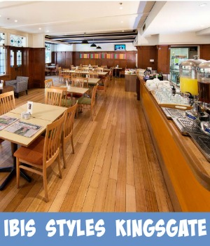 thumbnail link to site page on The Kingsgate Hotel now known as the Ibis Styles Kingsgate Hotel