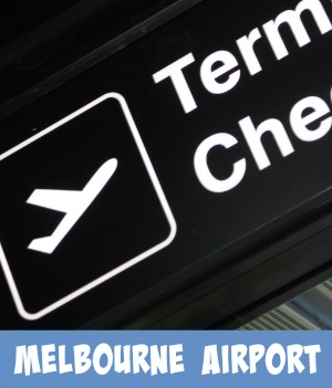 Image links to my site page on the the Melbourne airport