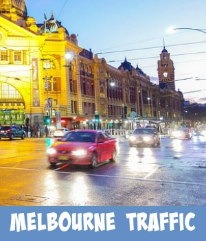 Site page on Melbourne traffic