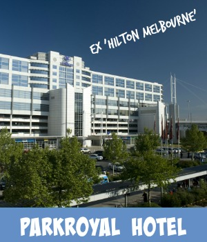 thumbnail image link to site page on the Parkroyal Airport Hotel, ex Hilton Airport Hotel