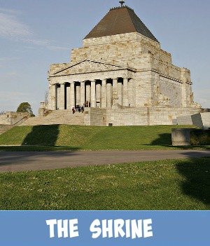 thumbnail image link to site page on the Shrine of Remembrance museum