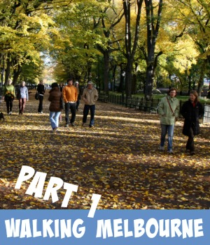 image link to site page on part 1 of walking Melbourne