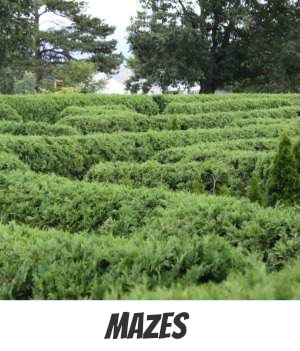 Image link to site page on melbourne Maze Gardens