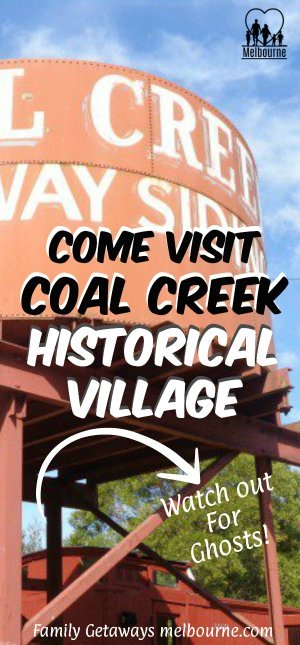 Coal Creek historical village Pinterest pin
