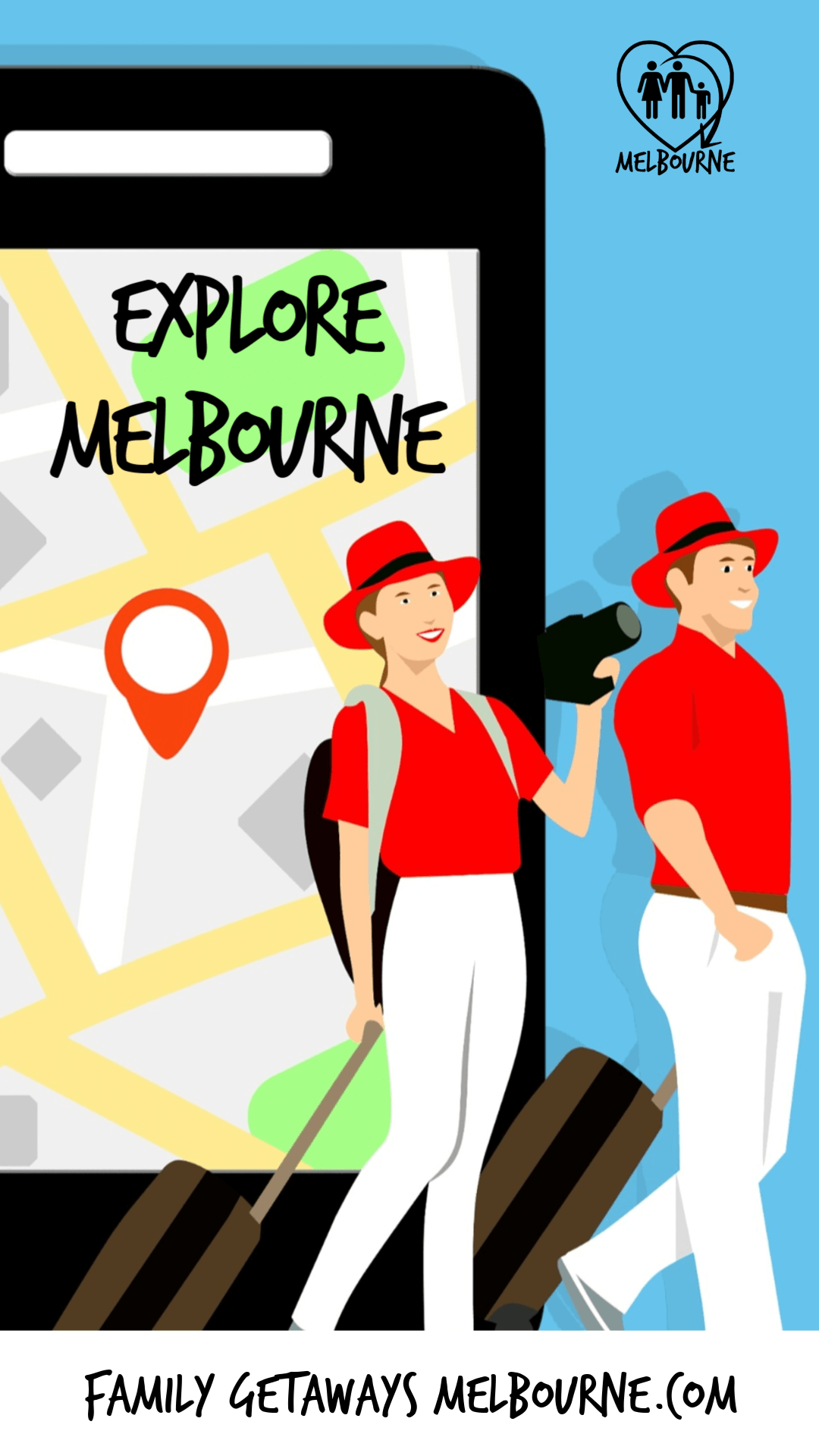 Explore Melbourne like a tourist