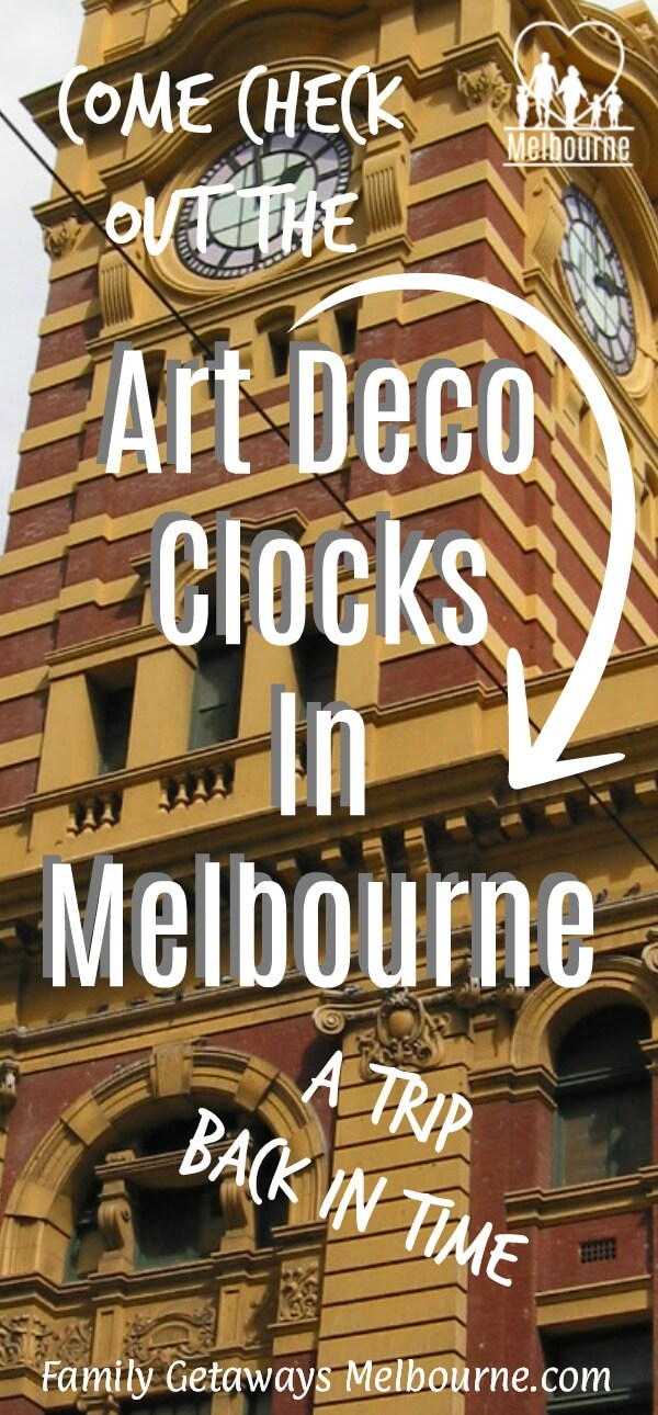 Art deco clocks in melbourne image to pin to Pinterest