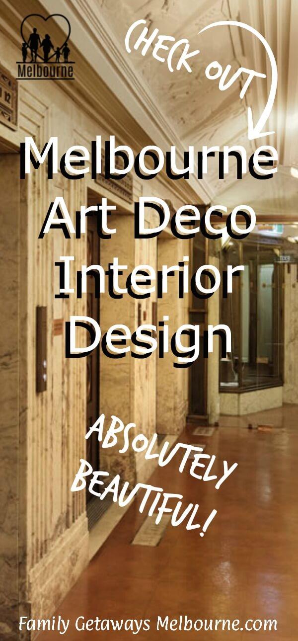 Art deco interior design in Melbourne
