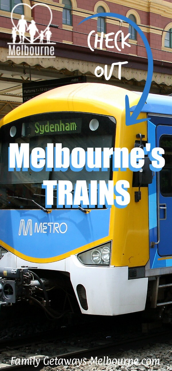 image to pin to Pinterest for site page on Melbourne trains