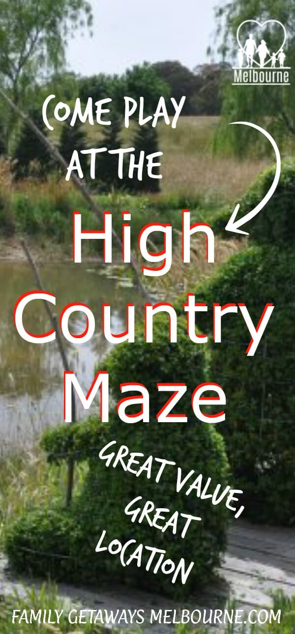 image of the High Country Maze to pin to Pinterest