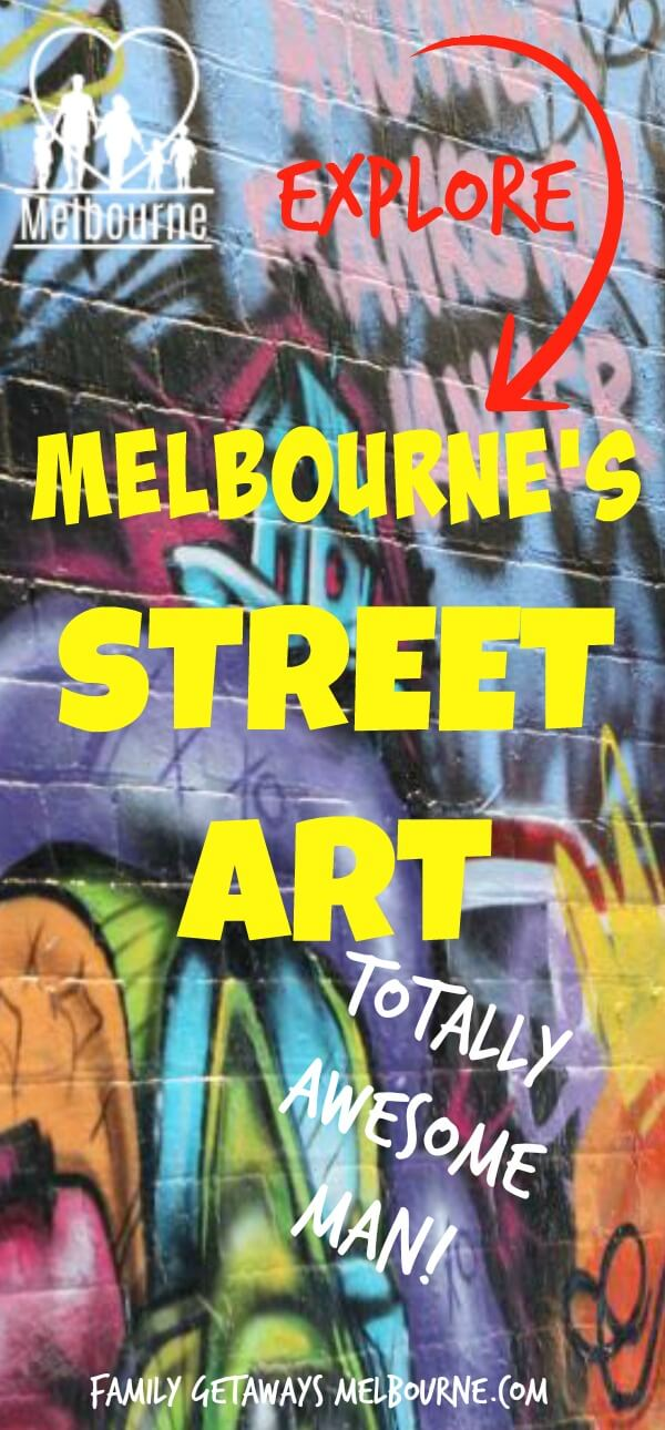 image to pin to Pinterest for site page on street art in Melbourne