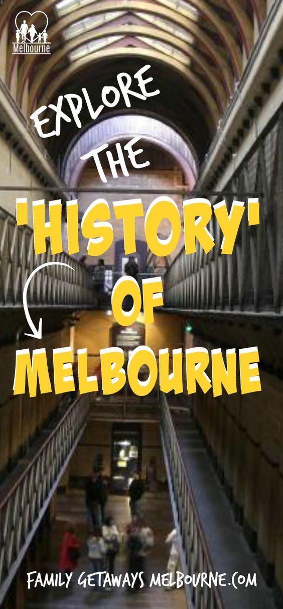 Melbourne History Pinterest pin