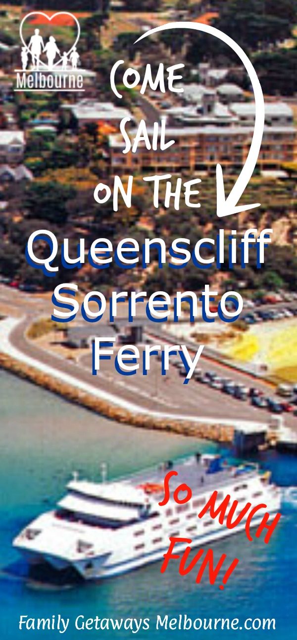 image to pin onto Pinterest for the site page on the Sorrento Ferry