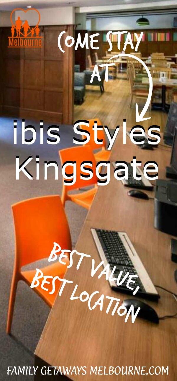 ibis Styles Kingsgate image to pin to Pinterest