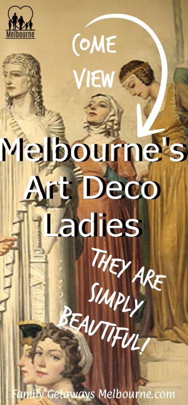 Art Deco ladies in Melbourne