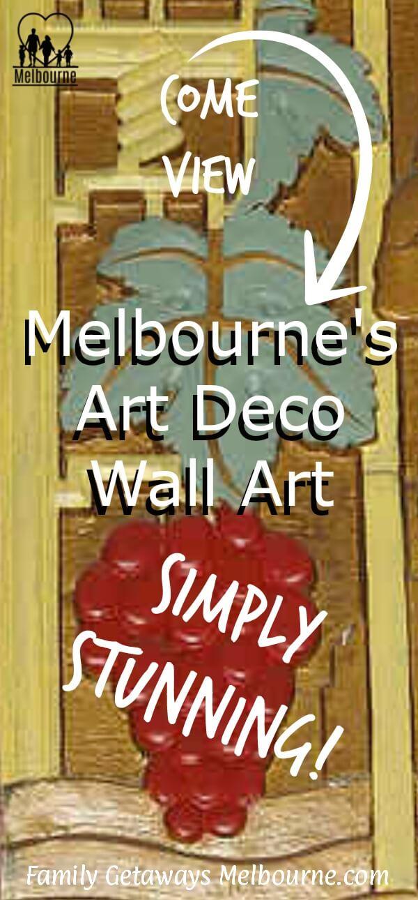 Art Deco wall art in Melbourne