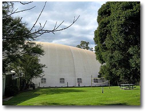 The Kilsyth Pool Dome