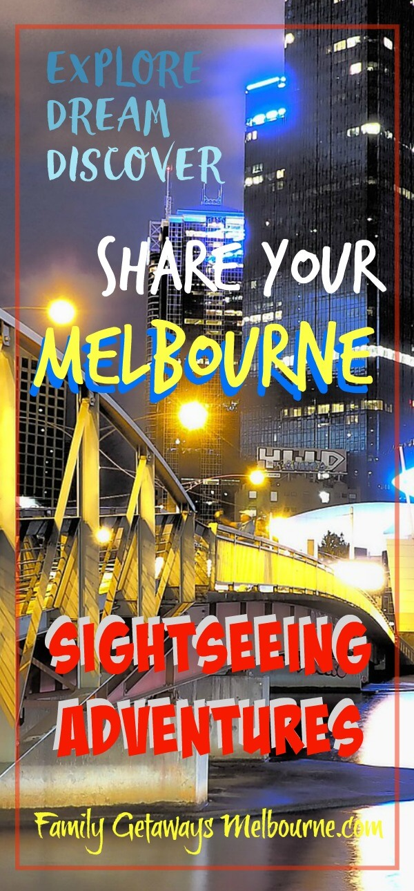 Melbourne sightseeing Pinterest pin
