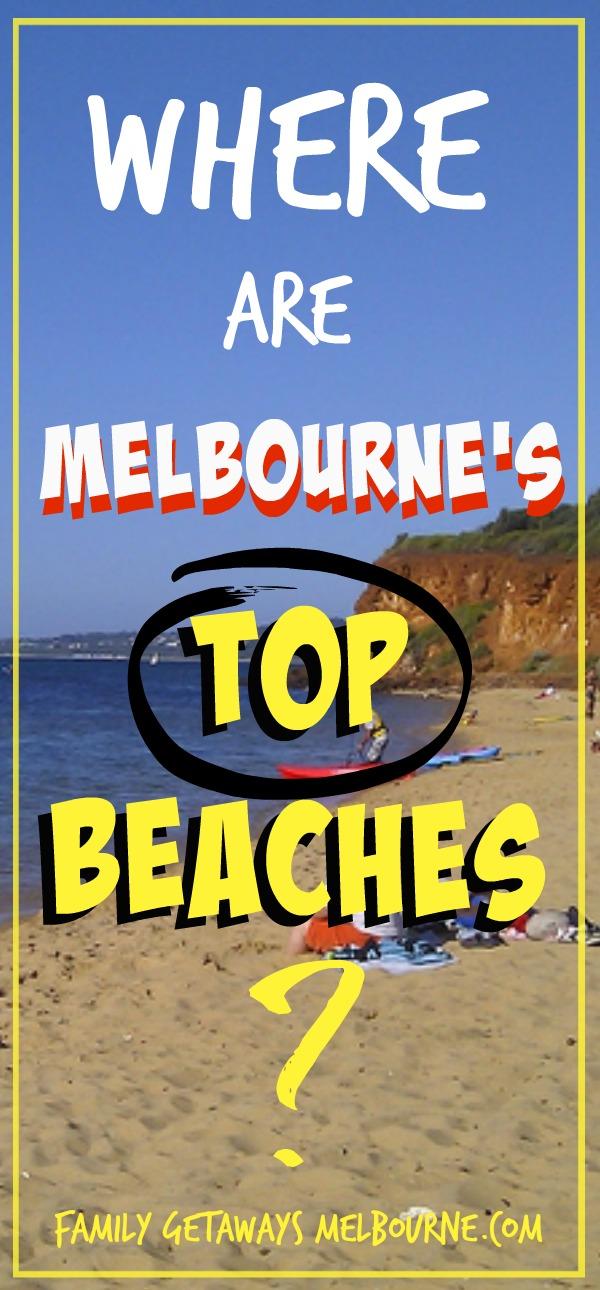 Top beaches around Melbourne