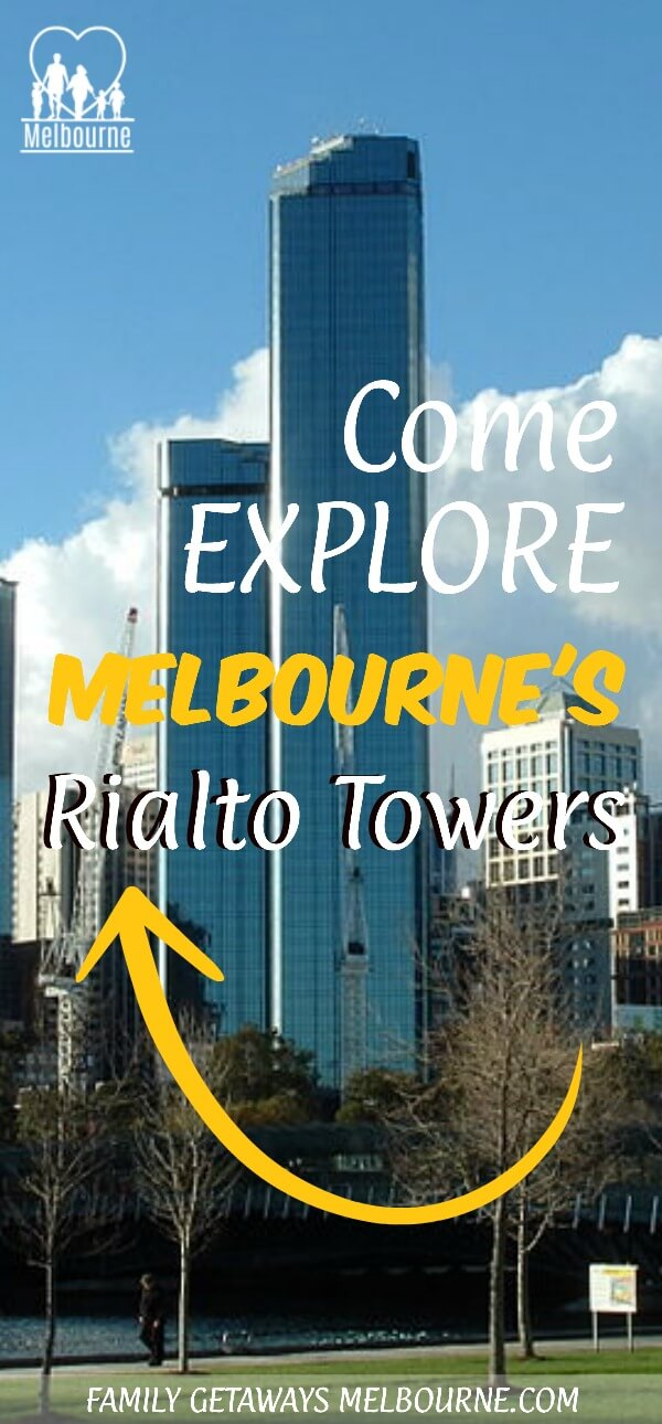 The Rialto Towers Pinterest Pin