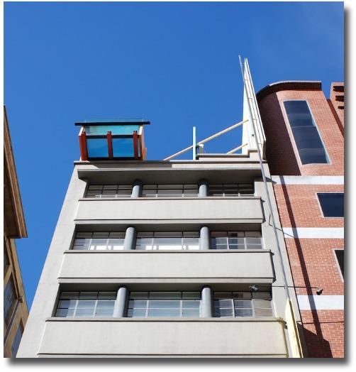 Adelphi Hotel Melbourne, rooftop pool overhang compliments of http://www.flickr.com/photos/wiggo/2409552057