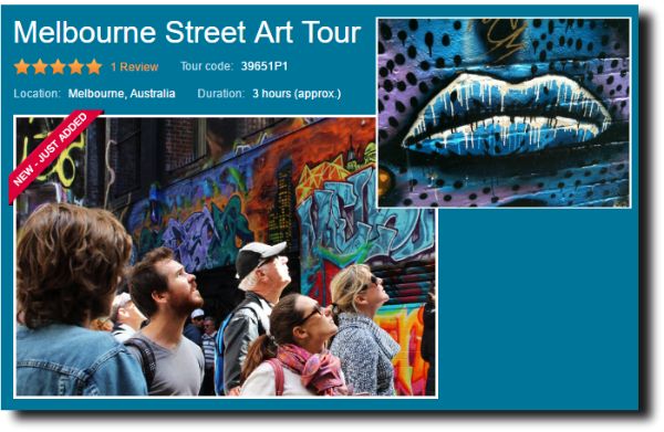 street art of melbourne walking tour image