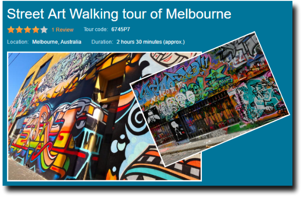 street art and graffiti of melbourne walking tour image