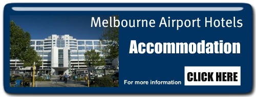 Melbourne Airport Hotel ad link to booking accommodation