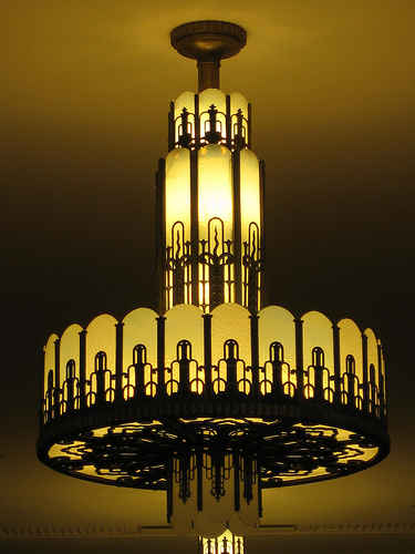 Art Deco Chandelier Myer Melbourne
