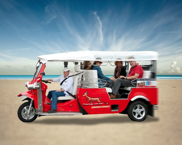 The Bongo Transit Community vehicle