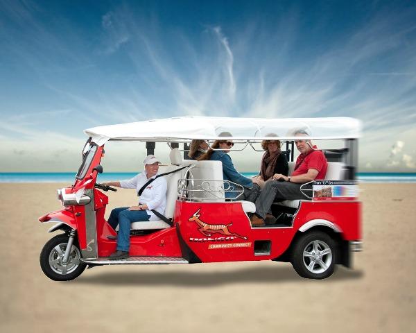The Bongo Transit Community vehicle