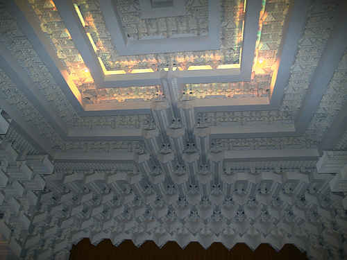 The Capitol Theatre ceiling in Melbourne Australia compliments of www.flickr.com/photos/73416633@N00/480928223/