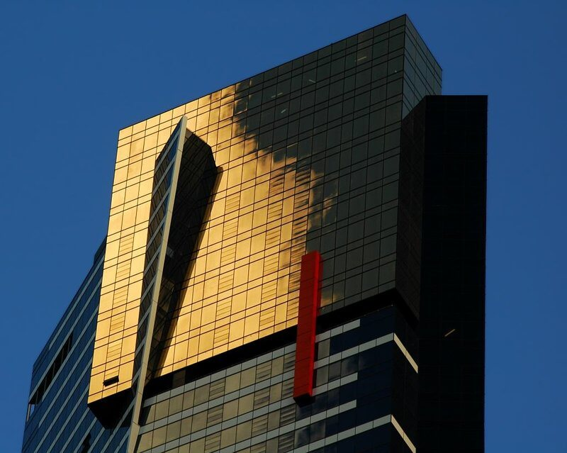 Eureka Tower in Melbourne Australia compliments of https://www.flickr.com/photos/mugley/176238641/