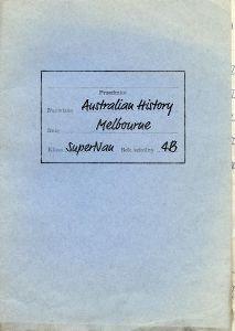 old work folder for Australian History