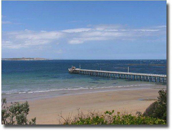 Point Lonsdale pier on Port Phillip Bay Melbourne Australia compliments of Steve Curle