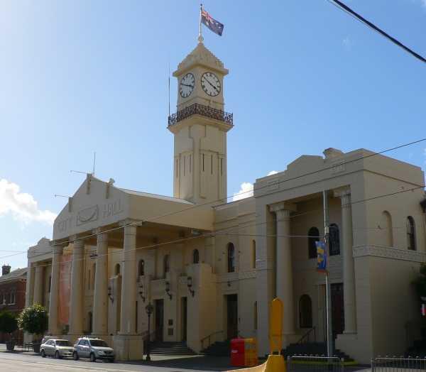 Richmaond Town Hall Victoria Australia